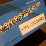 nuovo flauto yamaha yfl222