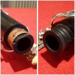 Ricostruzione e riparazione innesto clarinetto in ebano