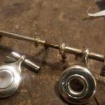 Riparazione controllo e pulizia meccanica chiavi flauto
