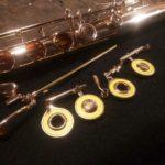 Riparazione e manutenzione flauto Muramatsu in oro 14K