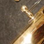 Riparazione flauti traverso. Saldatura Colonnetta rotta.