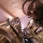 Revisione Sax Basso Selmer - Riparazione, pulizia e registrazione