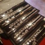 Flauti Professionali usati in argento tastiera aperta o chiusa