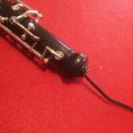 Straccetto scovolino bloccato nell'oboe